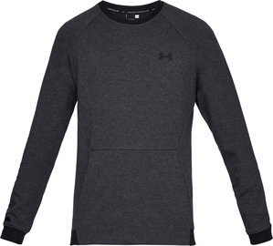 Under Armour Unstoppable Double Knit Crew Jumper 1329712-001 Black XXL