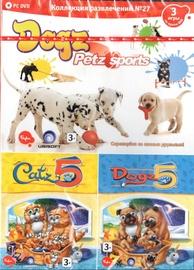 Izklaides Kolekcija 27 - Catz 5, Dogz 5, Dogz: Petz Sport Russian Version PC