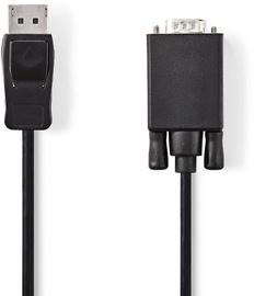 Nedis DisplayPort - VGA Cable Black CCGP37300BK20