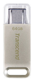USB atmintinė Transcend JetFlash 850, USB Type-C, 64 GB