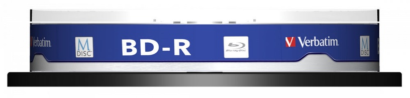 Накопитель данных Verbatim 10x 25GB BD-R 4x 43825