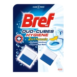 Valomieji unitazo kubeliai Breff Hygiene 2 x 50 g