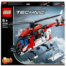 Конструктор LEGO Technic Спасательный вертолёт 42092, 325 шт.