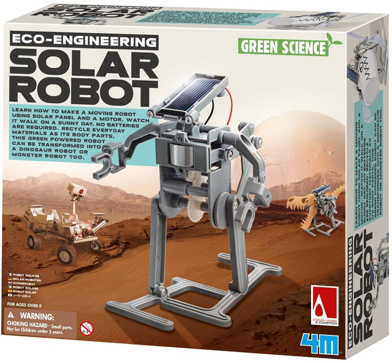 4M Eco-Engineering Solar Robot 3294