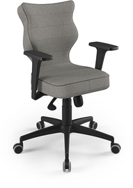 Entelo Perto Black Office Chair TW03 Gray