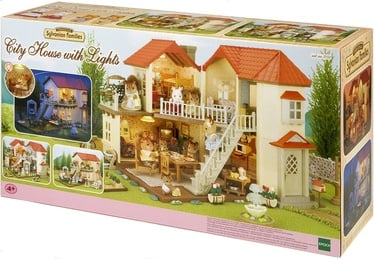 Epoch Sylvanian Families City House With Lights 2752