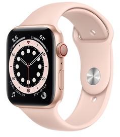 Nutikell Apple Watch 6 GPS + Cellular 44mm Sport Band, kuldne/roosa
