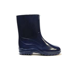 Moteriški guminiai batai, su aulu, mėlyni, 39 dydis