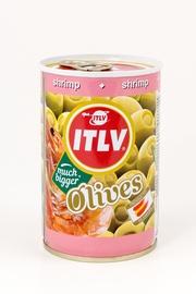 Žaliosios alyvuogės ITLV, su krevečių įdaru, 314 ml