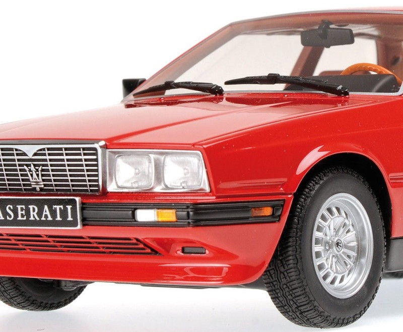 Minichamps Maserati Biturbo Coupe 1982 Red