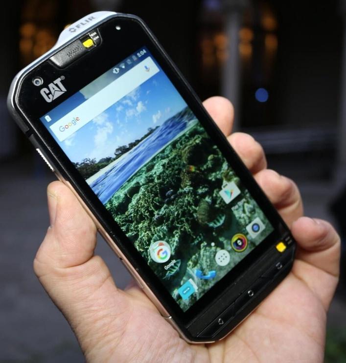Mobilusis telefonas Cat S60, 32 GB, DS