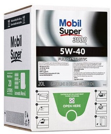 Mobil Super 3000 5W40 MaMobil Super 3000 5W40 Motor Oil Bag In Box 20lotor Oil