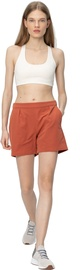 Audimas Womens Stretch Fabric Shorts Redwood M