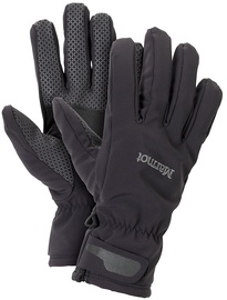 Marmot Gloves Glide Softshell Black M