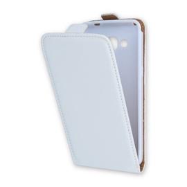 Forcell Flexi Slim Flip Vertical Case For Asus Zenfone 5 A500KL White