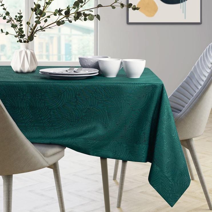 AmeliaHome Gaia Tablecloth Bottlegreen 120x160cm
