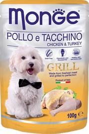 Monge Grill Pouch Chicken/Turkey 100g