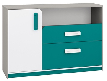 ML Meble Chest Of Drawers IQ 09 Turquoise