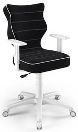 Детский стул Entelo Duo Size 5 JS01, белый/черный, 375 мм x 1000 мм