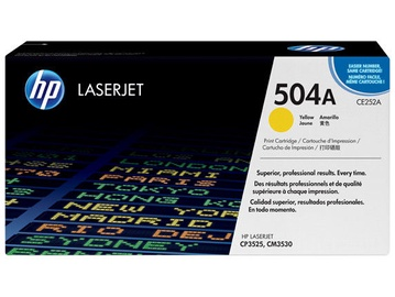 HP Toner 504A Yellow