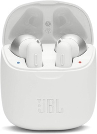 Ausinės JBL Tune 220TWS White, belaidės