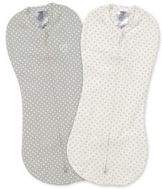 Summer Infant SwaddleMe Pod 2pcs Grey/White Dot
