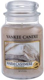 Ароматическая свеча Yankee Candle Classic Large Jar Warm Cashmere, 623 г