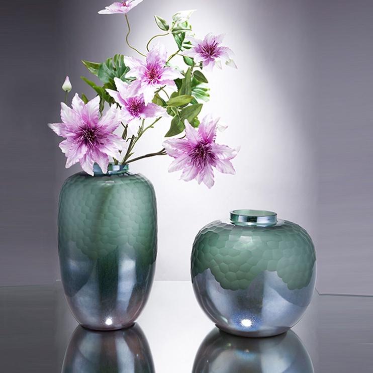 Home4you Luxo Vase D20x36cm Green