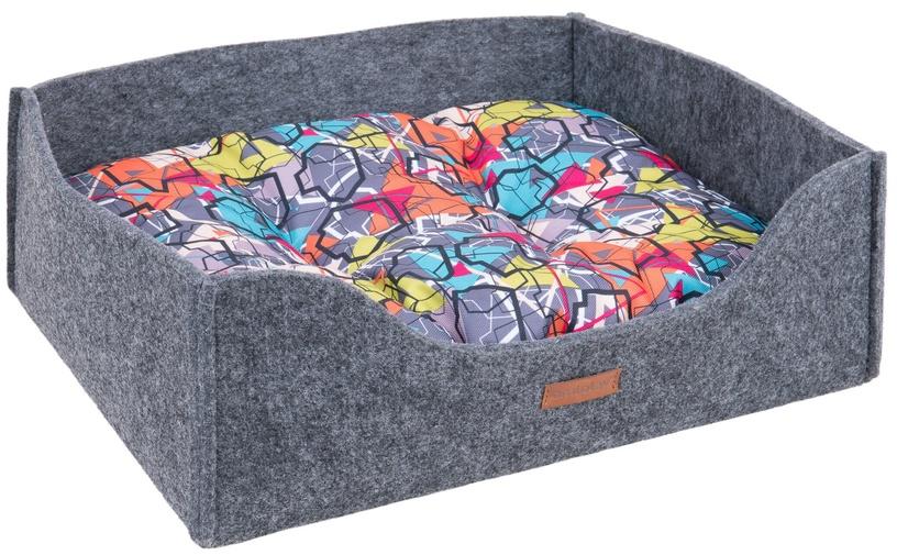 Лежанка Amiplay Hygge Dog Sofa 2in1 Gray L 60x48x18cm