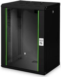 Serverikapp Digitus DN-19 16-U-SW, 60 cm x 45 cm x 82 cm