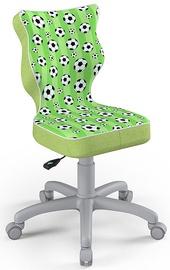 Детский стул Entelo Petit Size 4 ST29, зеленый/серый, 350 мм x 830 мм
