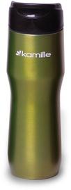 Kamille Vacuum Mug 450ml Green KM2050