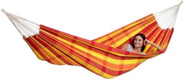 Amazonas Barbados Double Hammock Papaya Red Orange Yellow