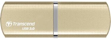 USB atmintinė Transcend Jet Flash 820G Gold, USB 3.0, 64 GB