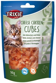 Trixie 42717 Premio Cheese Chicken Cubes 50g