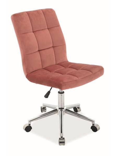 Biroja krēsls Signal Meble Q-020 Antique Pink