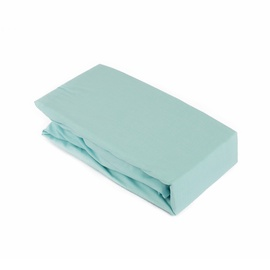 Domoletti Bed Sheet with Rubber 160x200 Blue