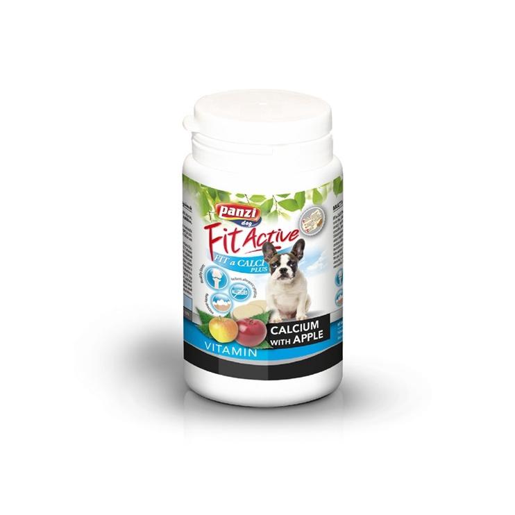 Vitaminai šunims Fit Active Calci Plus, 60 tab.
