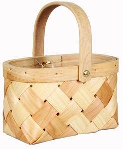 Verners Wood Basket 17x10