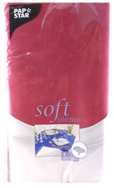 Pap Star Soft Selection Tablecloth 120 x 180cm Dark Red