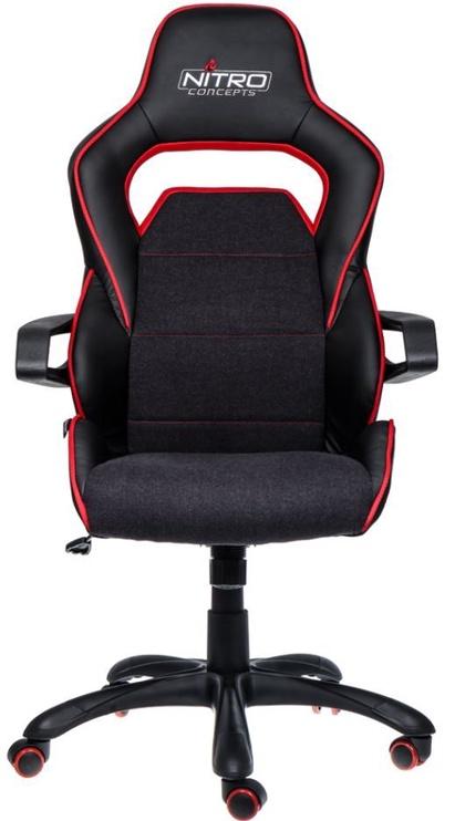 Žaidimų kėdė Nitro Concepts Evo Gaming Chair Black/Red