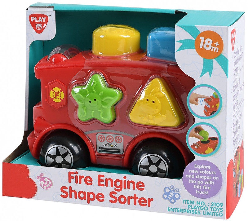PlayGo Fire Engine Shape Sorter 2109
