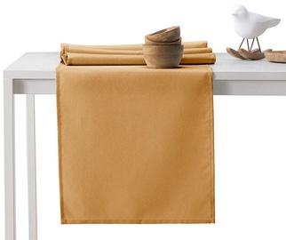 AmeliaHome Empire AH/HMD Tablecloth Set Gold 115x250cm/30x250cm 2pcs
