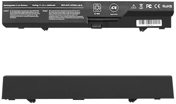 Аккумулятор для ноутбука Qoltec Long Life Notebook Battery For HP 625/620/4420s 4400mAh