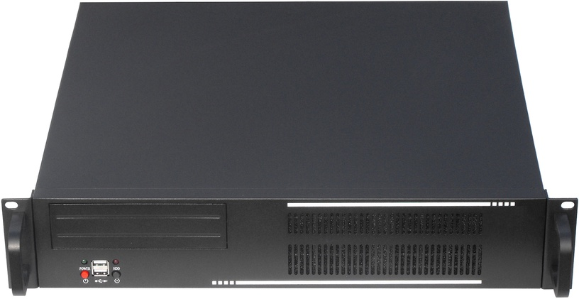 "Gembird 19"" Rack-mount ATX 2U Black 19CC-2U-01"
