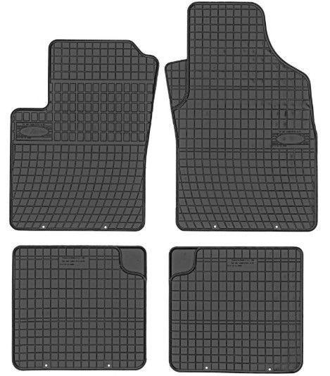 Резиновый автомобильный коврик Frogum Ford KA / Fiat 500 / Fiat Panda, 4 шт.