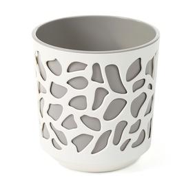 SN Duet Indoor Plant Pot 19.5x20cm White Beige