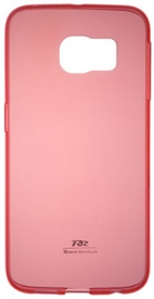 Roar Ultra Thin Back Case For Apple iPhone 5/5S Transparent/Red