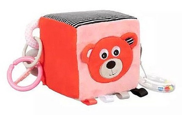 Canpol Babies Plush Cube Bears Coral