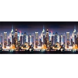 ABS sienų danga 3000X600x1.3 mm su miesto vaizdu
